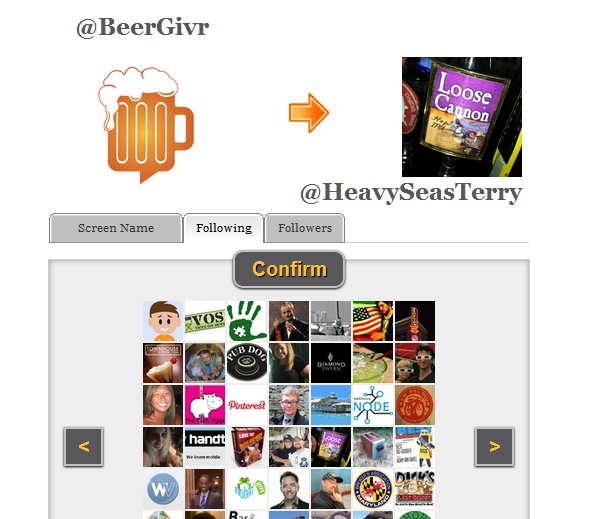 Use your Twitter account to send a gift to a friend